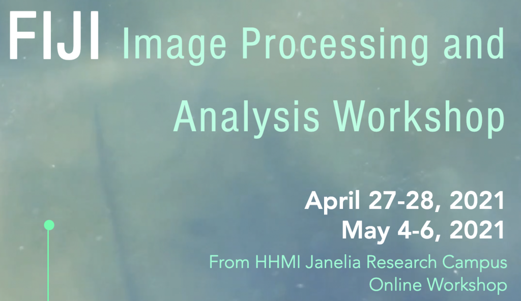 IMAGE PROCESSING AND ANALYSIS WORKSHOP BY JANELIA RESEARCH CENTER