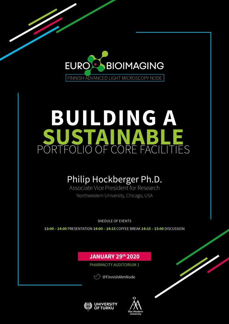 Building Sustainable Portfolio of Core Facilities