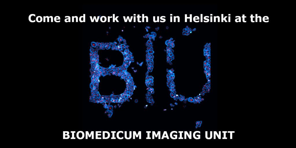Open position in a Biomedical Imaging Core Facility at the University of Helsinki